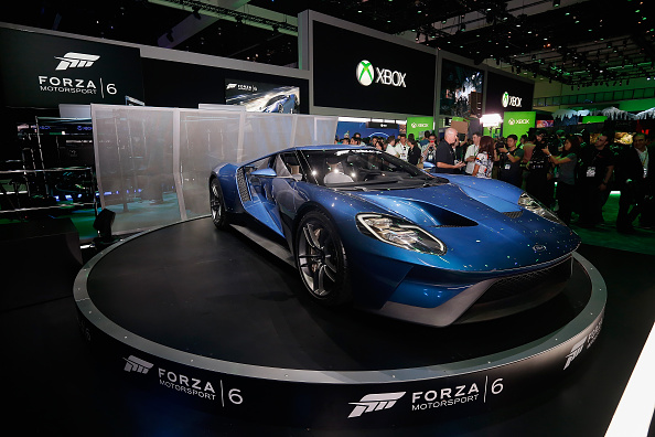 Ford GT「Annual Gaming Industry Conference E3 Takes Place In Los Angeles」:写真・画像(11)[壁紙.com]