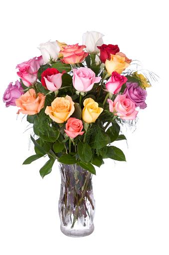 母の日「バラの花束」:スマホ壁紙(17)