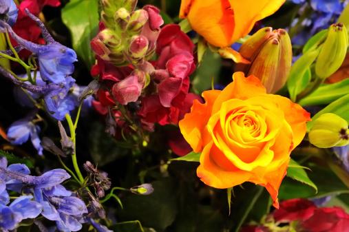 Flower Shop「Bouquet of Flowers」:スマホ壁紙(19)
