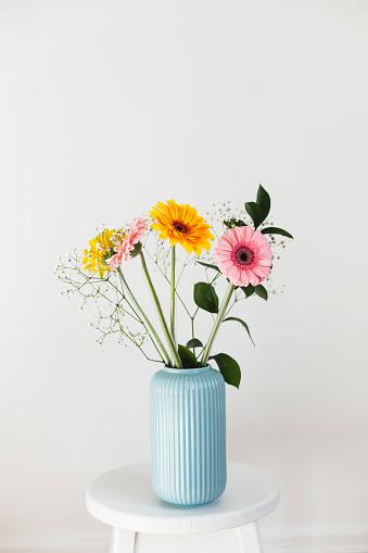 Pastel「Bouquet of gerbera's daisy」:スマホ壁紙(12)