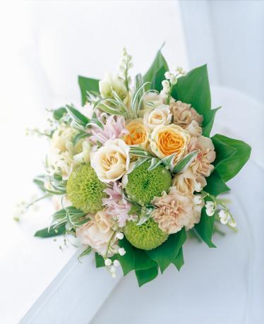 カーネーション「Bouquet of rose,carnation and lily of the valley.」:スマホ壁紙(6)
