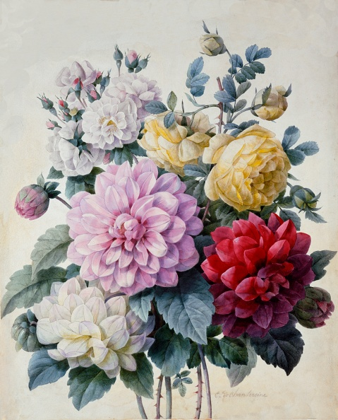 Illustration「Bouquet Of Flowers」:写真・画像(2)[壁紙.com]