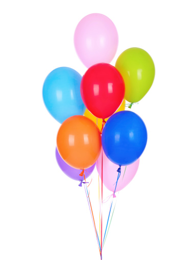 Balloon「Bouquet of multicolored baloons」:スマホ壁紙(17)