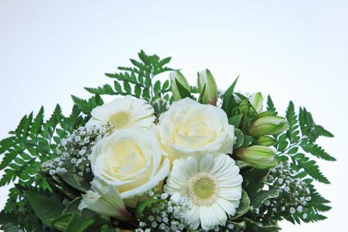 Bouquet「Bouquet of white flowers」:スマホ壁紙(19)
