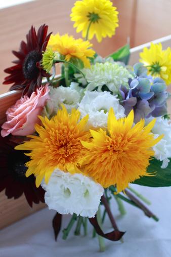 黄色「Bouquet of Sunflowers」:スマホ壁紙(18)