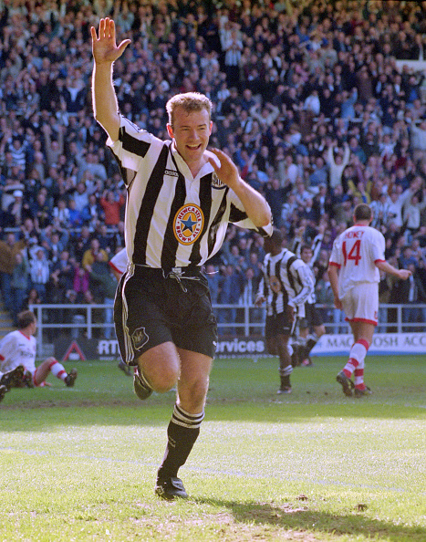 Celebration「Newcastle United v Sunderland Premier League 1997」:写真・画像(1)[壁紙.com]