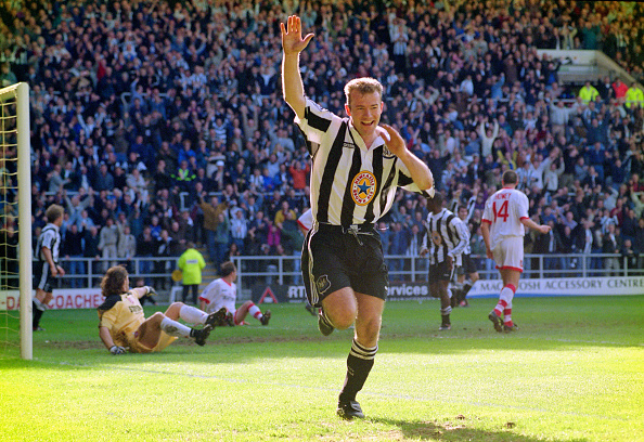 Celebration「Newcastle United v Sunderland Premier League 1997」:写真・画像(11)[壁紙.com]