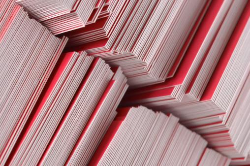 Business Card「Bureaucracy (pile of paper)」:スマホ壁紙(18)