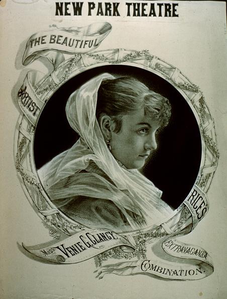 Typescript「New Park Theatre Poster Of Venie G. Clancy」:写真・画像(3)[壁紙.com]