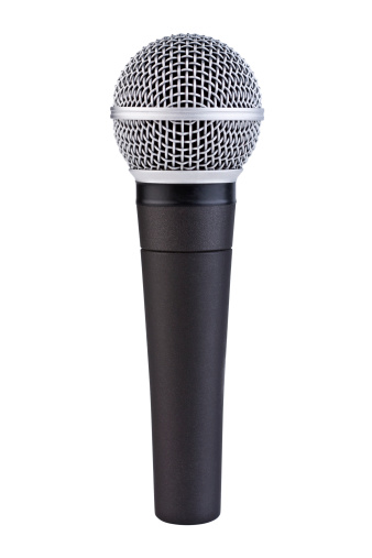 Electrical Equipment「Handheld Microphone with Clipping Path」:スマホ壁紙(14)