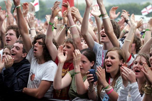Crowd「Glastonbury Music Festival 2005 - Day 1」:写真・画像(13)[壁紙.com]