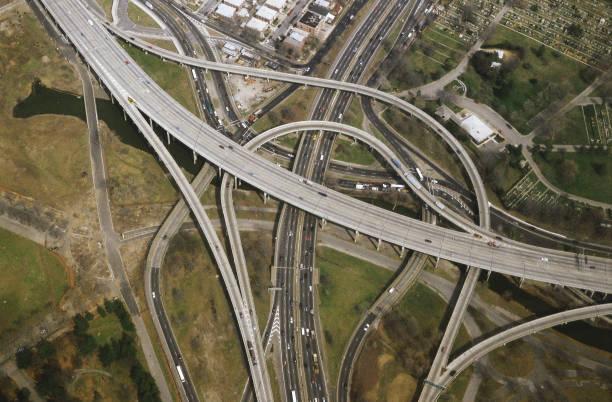 Aerial - highways - state of New York - USA:ニュース(壁紙.com)