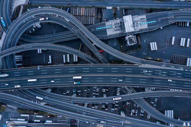 Aerial highway:スマホ壁紙(壁紙.com)