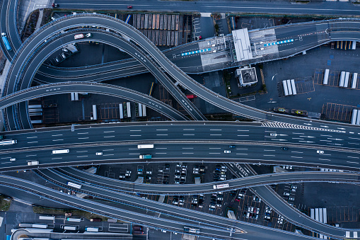 Multiple Lane Highway「Aerial highway」:スマホ壁紙(0)