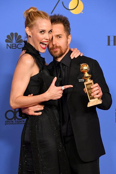 Golden Globe Statue「75th Annual Golden Globe Awards - Press Room」:写真・画像(19)[壁紙.com]