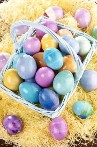 Easter Basket「Easter Basket with Easter Eggs」:スマホ壁紙(11)