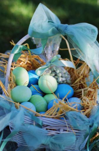 Easter Basket「Easter basket with eggs」:スマホ壁紙(13)