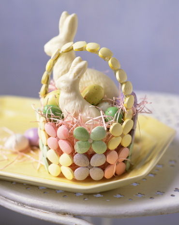 Easter Basket「Easter basket with chocolates」:スマホ壁紙(18)