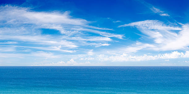 XXXL パノラマに広がる海の眺め:スマホ壁紙(壁紙.com)