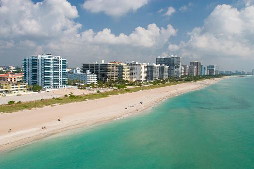 Miami Beach「海の眺め」:スマホ壁紙(12)