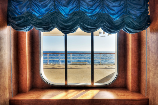 Cruise - Vacation「Ocean View through Window」:スマホ壁紙(5)