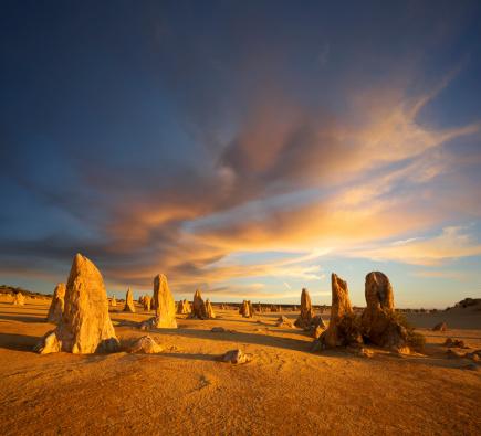 Natural Column「The Pinnacles Western Australia Outback」:スマホ壁紙(3)