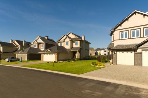 Small Town「New suburban houses.」:スマホ壁紙(14)