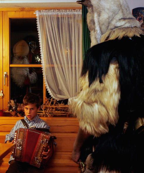 Accordion - Instrument「Traditional Buttenmandl And Krampuss Saint Nicholas Parade」:写真・画像(8)[壁紙.com]