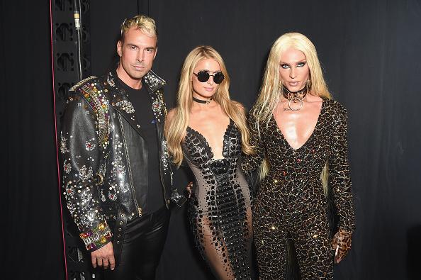 パリス・ヒルトン「The Blonds - Backstage - September 2017 - New York Fashion Week Presented By MADE」:写真・画像(1)[壁紙.com]