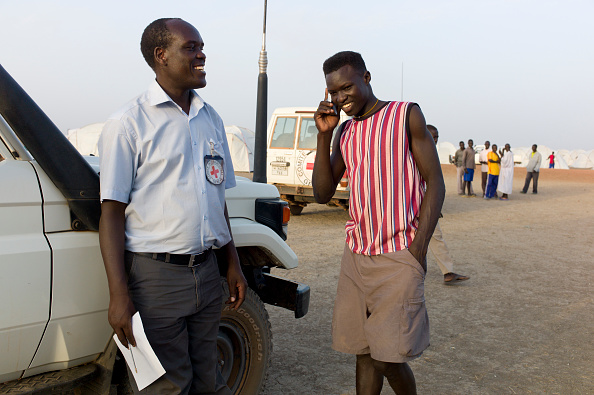 Wireless Technology「Refugee Camp In South Sudan」:写真・画像(18)[壁紙.com]