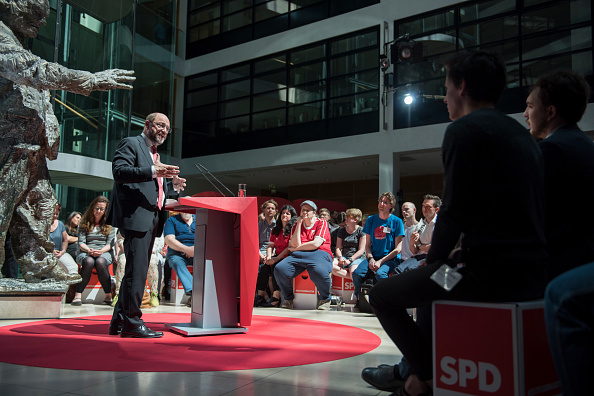 Steffi Loos「Martin Schulz Defines SPD Mission Ahead Of Federal Elections」:写真・画像(10)[壁紙.com]