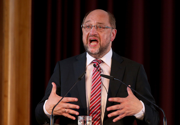 Party - Social Event「Martin Schulz Speaks On Immigration And Integration In Germany」:写真・画像(1)[壁紙.com]