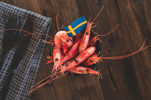 Party - Social Event「Seafood at a traditional Swedish crayfish party」:スマホ壁紙(2)