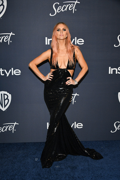 Cut Out Dress「21st Annual Warner Bros. And InStyle Golden Globe After Party - Arrivals」:写真・画像(11)[壁紙.com]