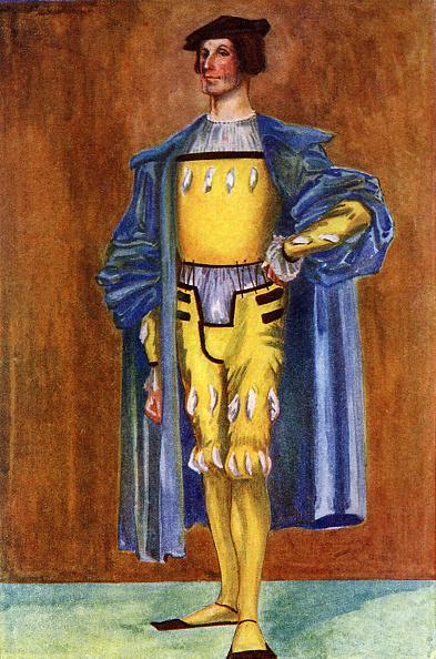 Tudor Style「Man 's costume in reign of Henry VIII (1509-1547)」:写真・画像(9)[壁紙.com]