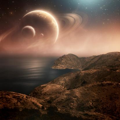 Solar System「Planets」:スマホ壁紙(17)