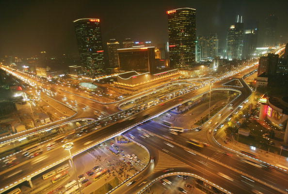 High Angle View「Beijing Streets Crowded Despite Improvements」:写真・画像(7)[壁紙.com]