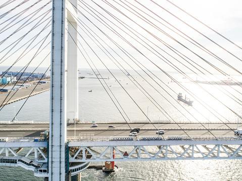 Gulf Coast States「A big bridge and the sea.」:スマホ壁紙(8)
