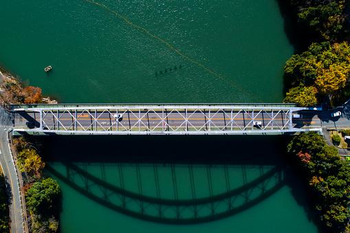 Satoyama - Scenery「A big bridge over the mountain.」:スマホ壁紙(11)