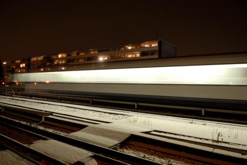 Electric train「Night Train」:スマホ壁紙(17)
