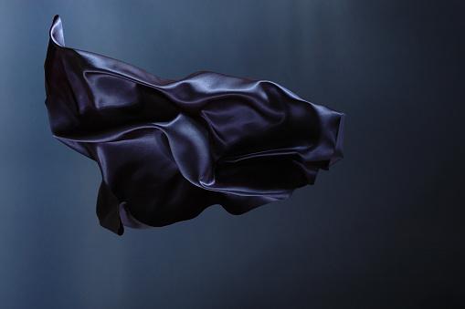 Textile「Blue satin」:スマホ壁紙(8)