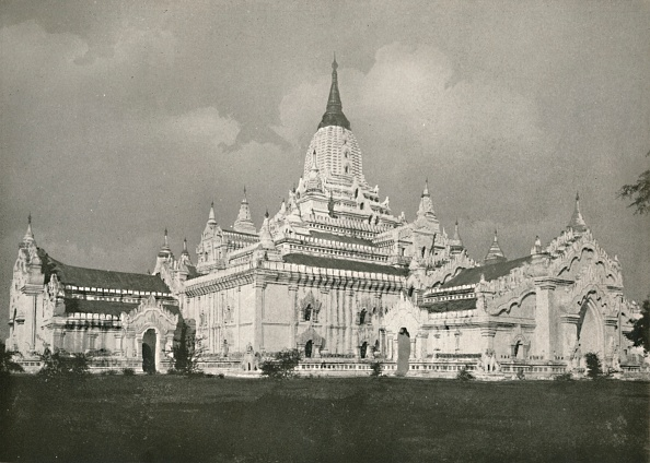 1900-1909「The Anauda Pagoda」:写真・画像(16)[壁紙.com]