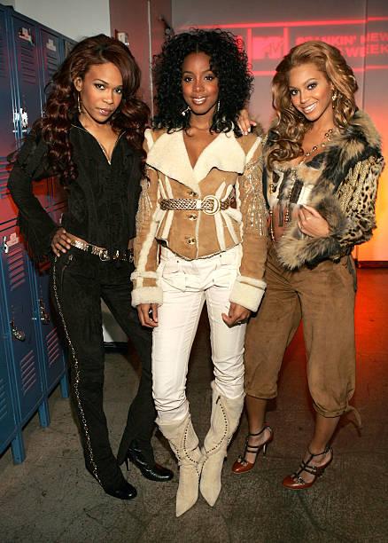 MTV TRL With Destiny's Child And Salma Hayek:ニュース(壁紙.com)