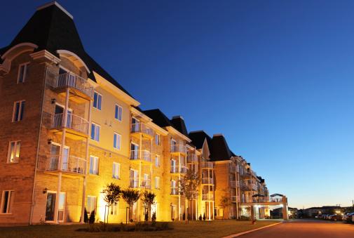 Housing Project「Modern Retirement Residence at Sunset」:スマホ壁紙(1)