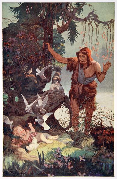 自然・風景「The Shepherd Finds The Babe Semiramus' 1915」:写真・画像(10)[壁紙.com]