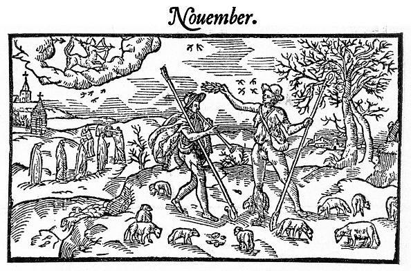 Engraving「The Shepherd 's calendar」:写真・画像(19)[壁紙.com]