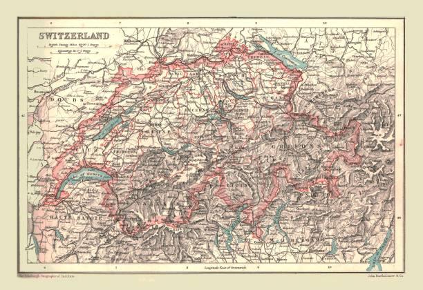 Map Of Switzerland:ニュース(壁紙.com)