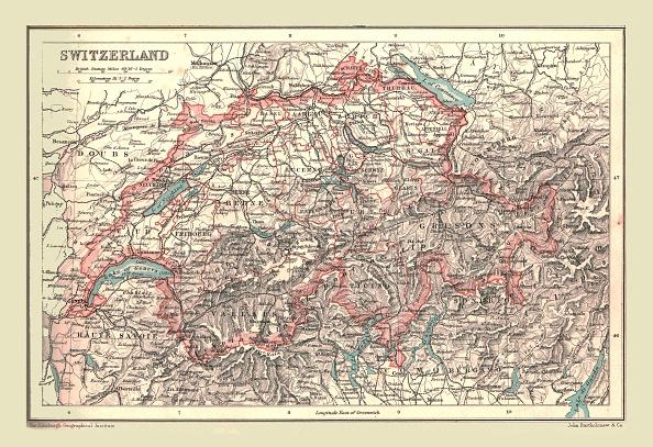 20th Century「Map Of Switzerland」:写真・画像(5)[壁紙.com]