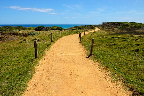 一本道「Winding Gravel Path too Viewpoint」:スマホ壁紙(16)