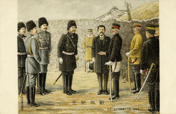 Surrendering「General Stessel surrendering to General Nogi」:写真・画像(16)[壁紙.com]